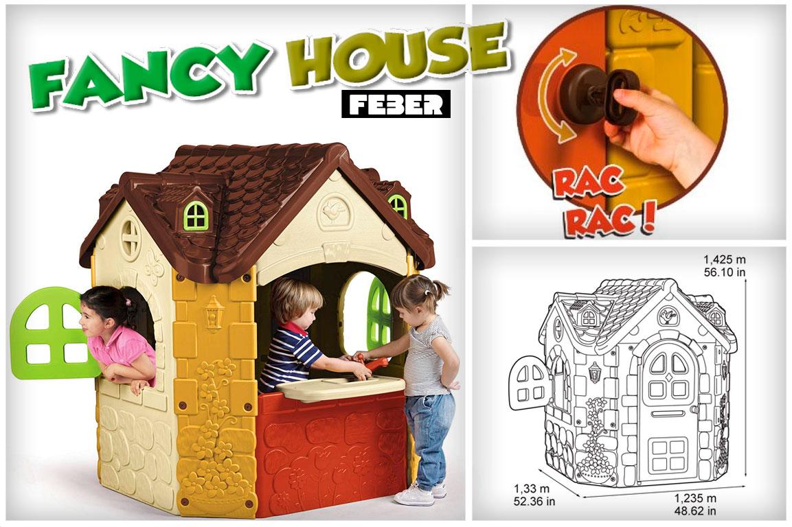 Casa de plastico Feber