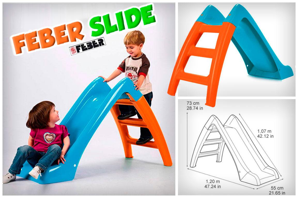 Pequeño Tobogan Feber Slide