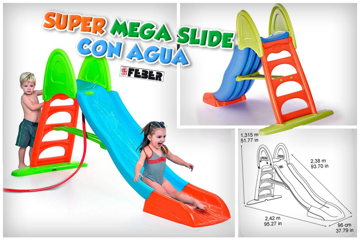 Super Mega Slide Tobogán con Agua