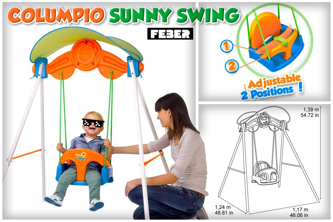 feber junior sunny swing