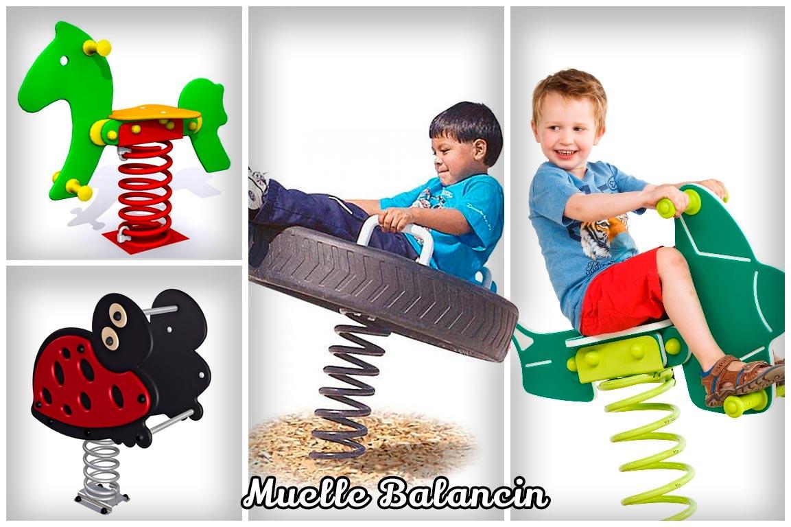 Muelle balancin infantil