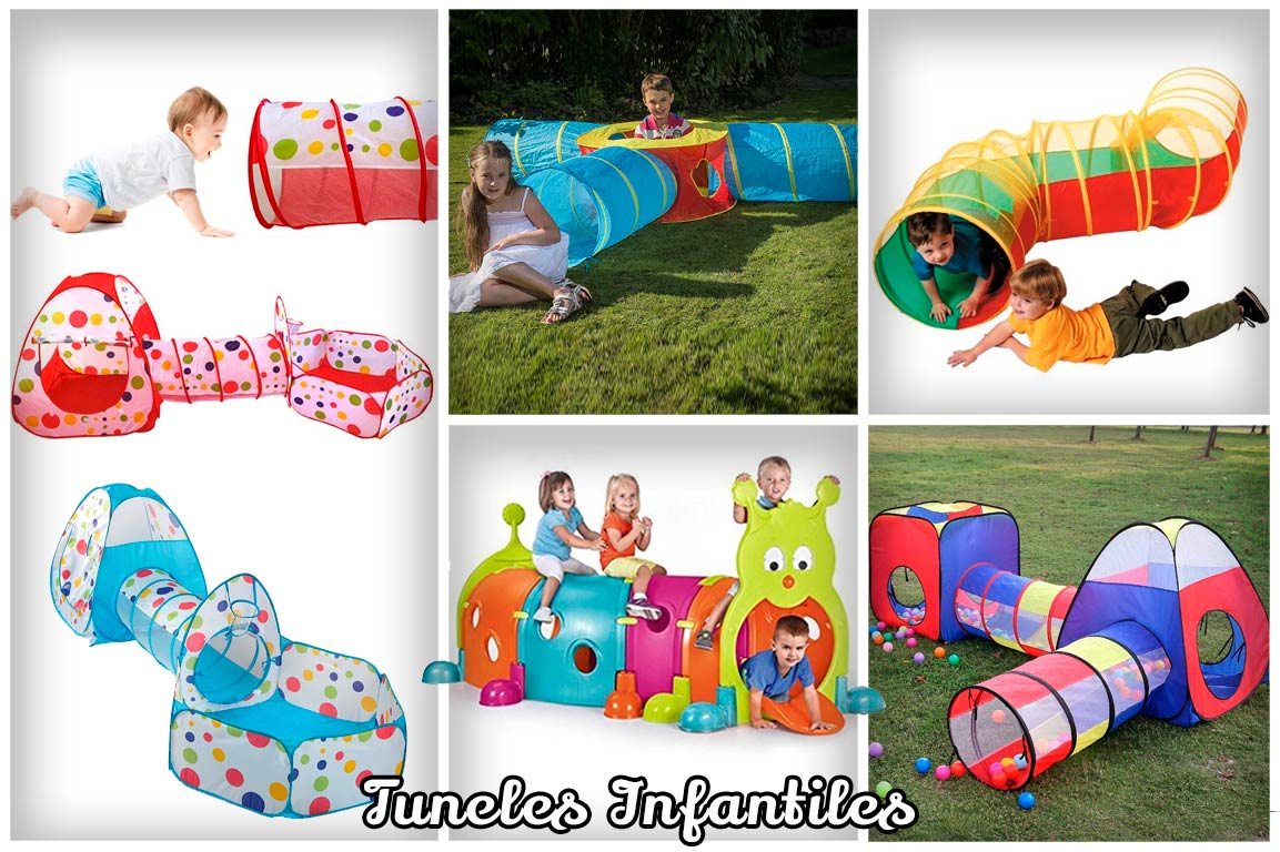 Tunel para juegos infantil para bebés Juguetes para niños