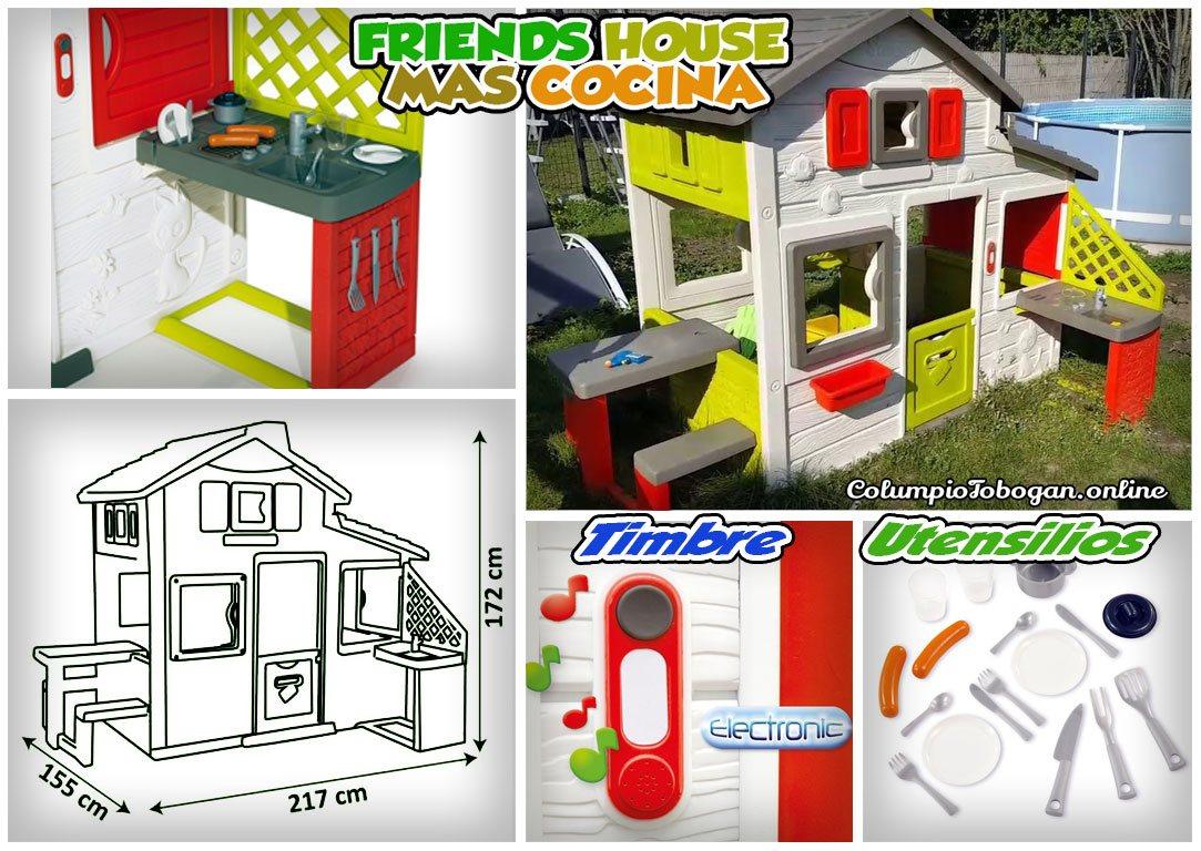 Casa infantil Friend House mas cocina-Smoby