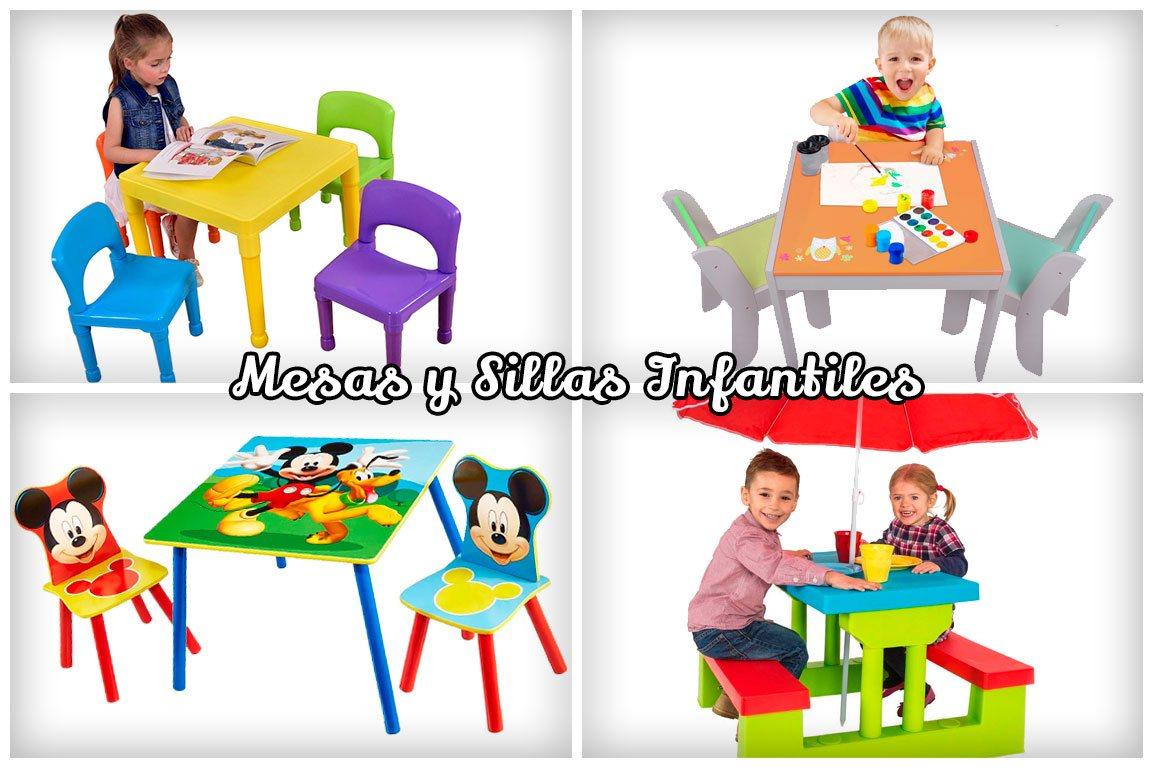 Juego de mesas infantiles niños y niñas