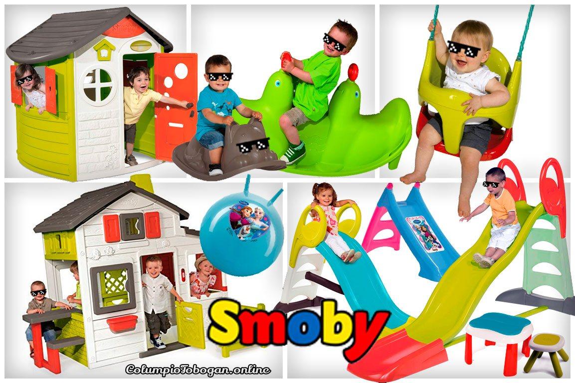 Smoby balancines, casa de juguete