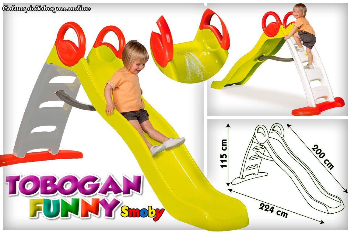 Funny toboggan Smoby para chicos