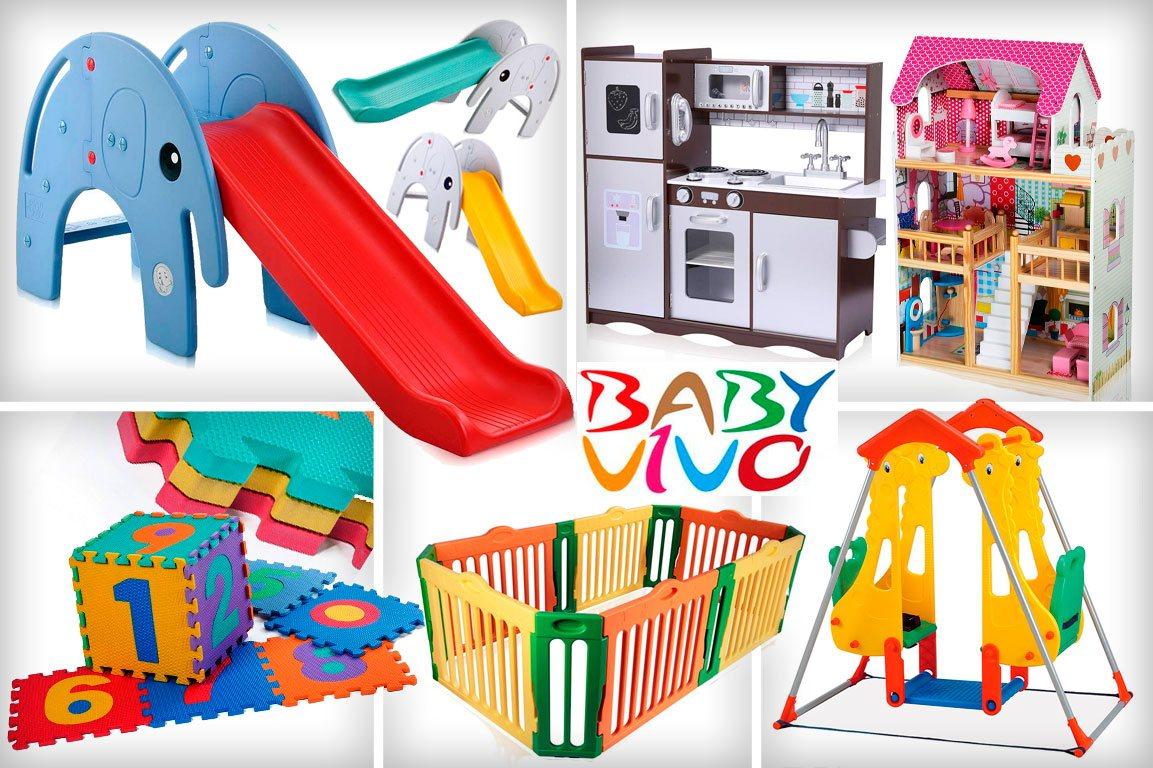 baby vivo toboganes y parques infantiles