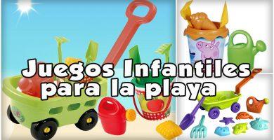 juegos infantiles de playa
